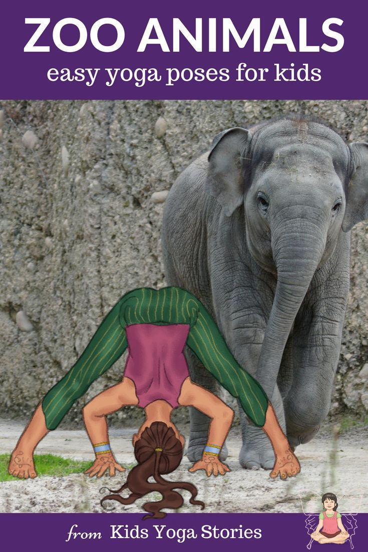 Zoo Animals Yoga Poses for Kids: Learn about zoo animals through yoga poses for ...