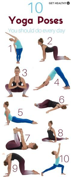 Confira nosso treino de ioga simples! Demos-lhe 10 poses de ioga que você deve ...