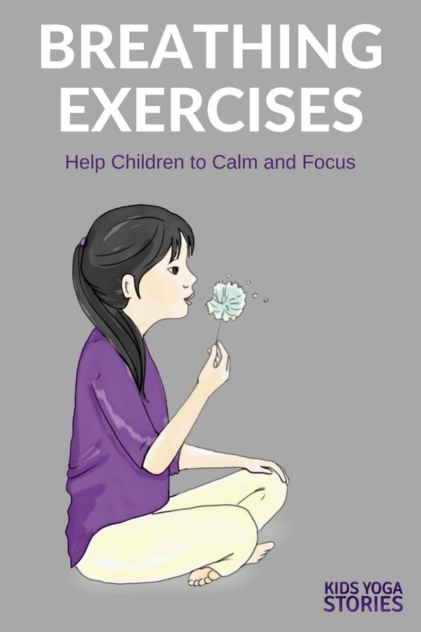 5 Breathing Exercises for Kids to help children calm and focus | Kids Yoga Stori...
