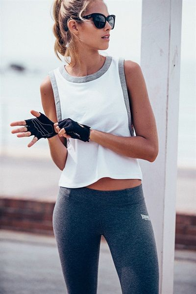 Fresh activewear that you can wear to breakfast post-workout is what we are all ...