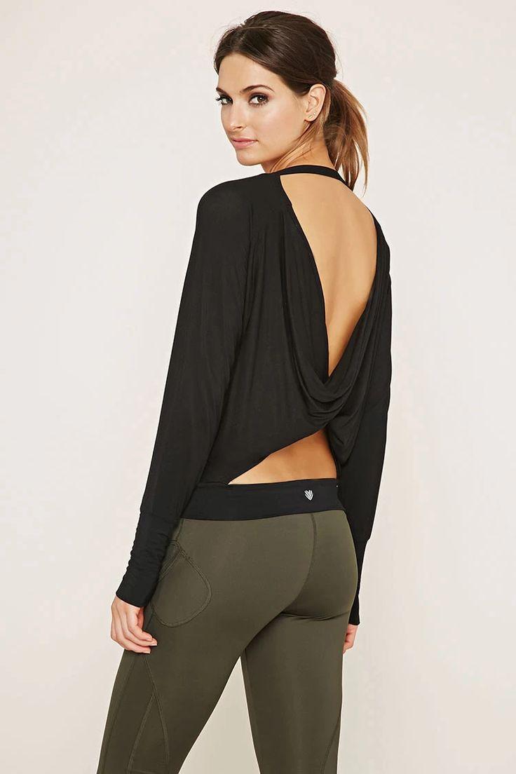 ♡ Forever 21 Workout Clothing   Yoga Tops   Sports Bra   Yoga Pants   Motivati...