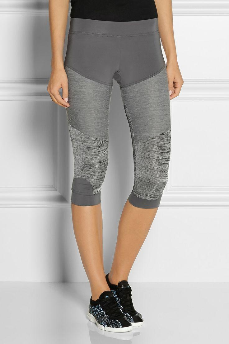Adidas by Stella McCartney|Studio paneled Climalite® stretch leggings