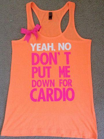 Pitch Perfect - Neon Tank - Womens Fitness Clothing - Workout shirt – Ruffles ...