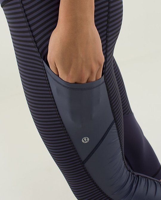 i love these leggings from lululemon with the side leg pockets...i would get pla...