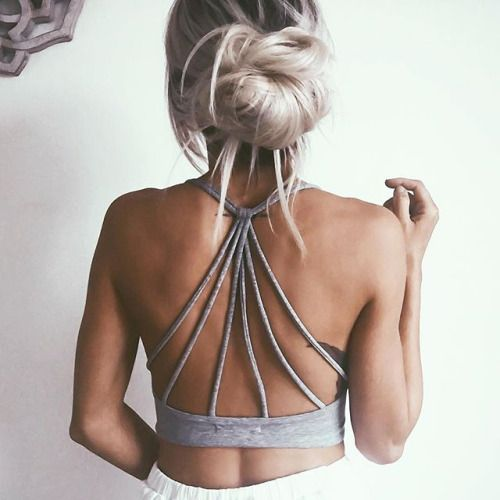 strappy sport top