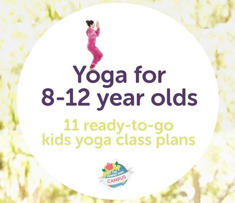 In this download, there are 11 ready-to-go kids yoga class plans for tweens (kid...