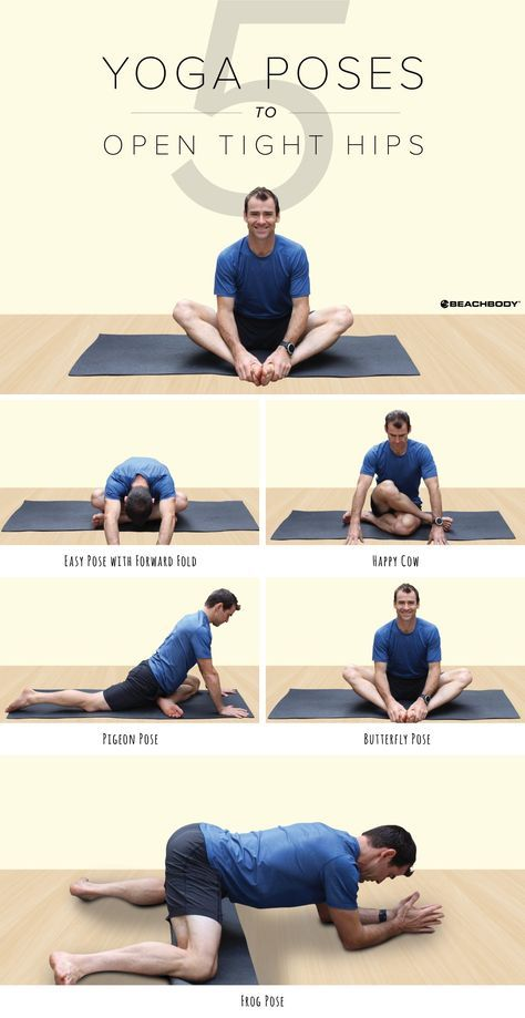 Suffering from tight hips? These 5 yoga poses will help loosen them and open the...
