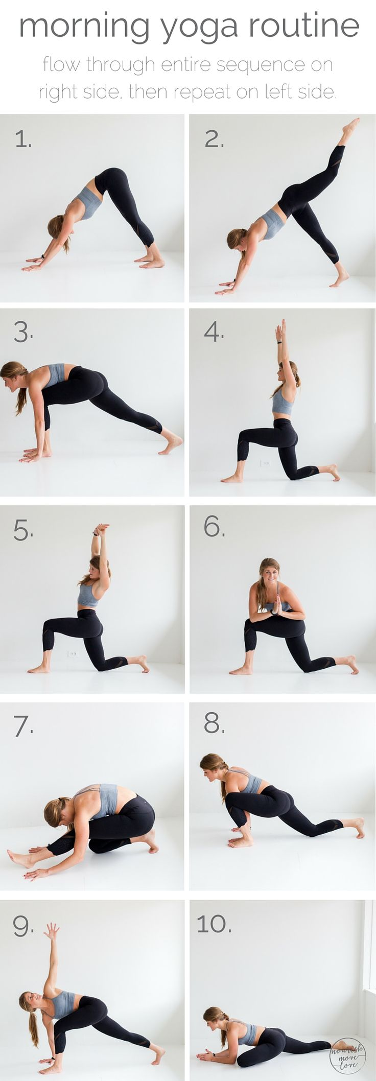 10 morning yoga poses that will make you feel totally energized while decreasing...
