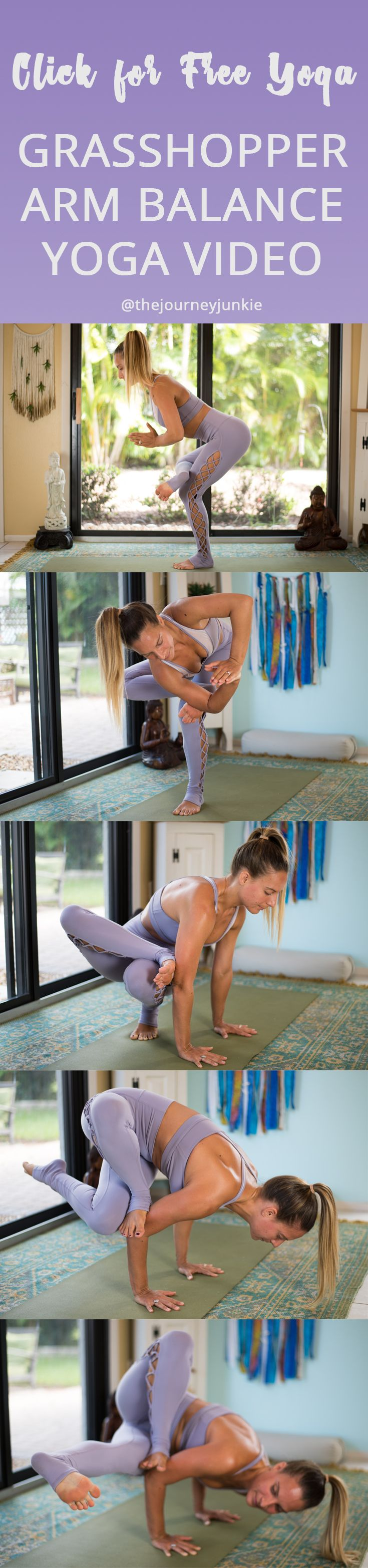 Grasshopper Yoga Pose Video: Twist + Hip Opener Flow - Pin now, unroll your mat ...