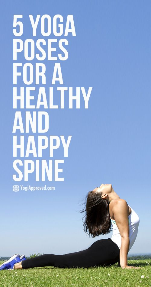 Learn Yoga Anatomy: 5 Yoga Poses for a Healthy Spine