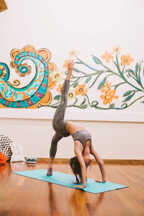 bridge variation   yoga
