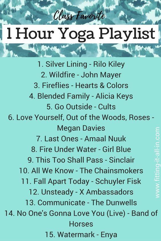 1 Hour Yoga Playlist #music #yoga