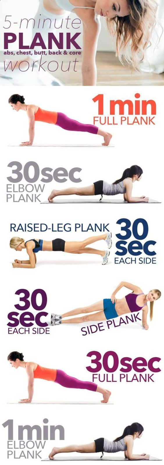 Five Minute Workouts #yoga #health #fitness #lifestyle