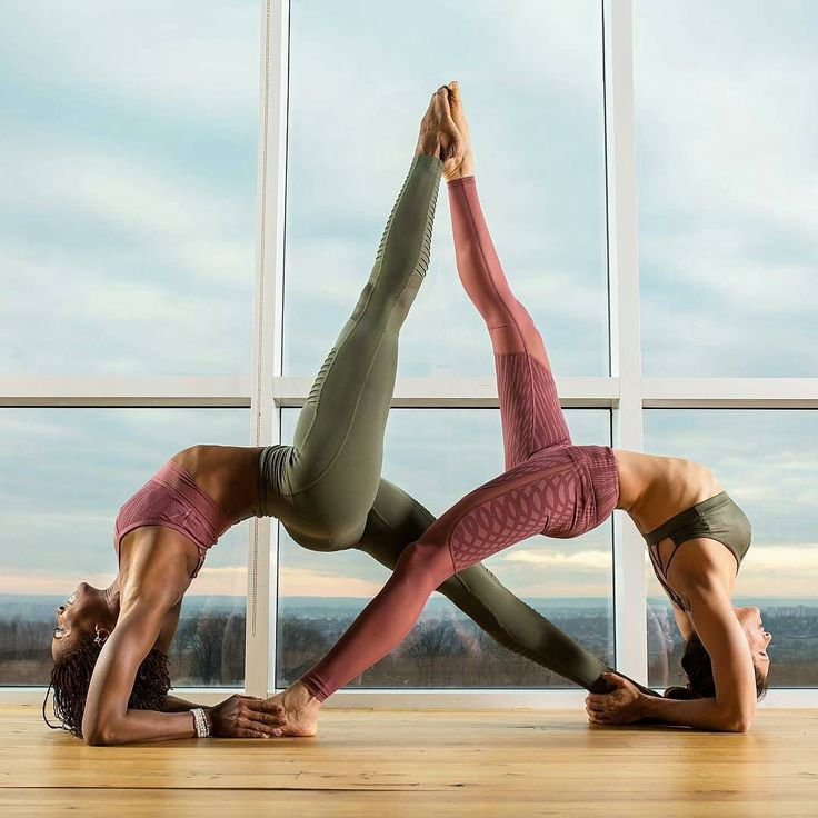 Images of Two People Yoga Poses - #rock-cafe