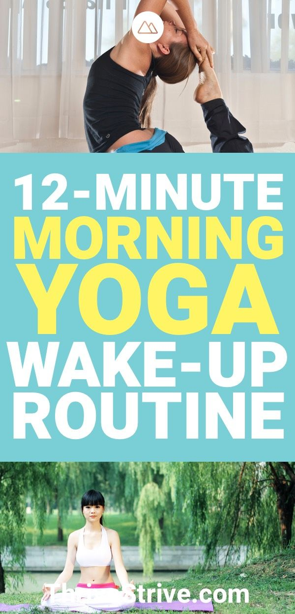 I finally found a morning yoga routine that is perfect for me. Waking up to yoga...