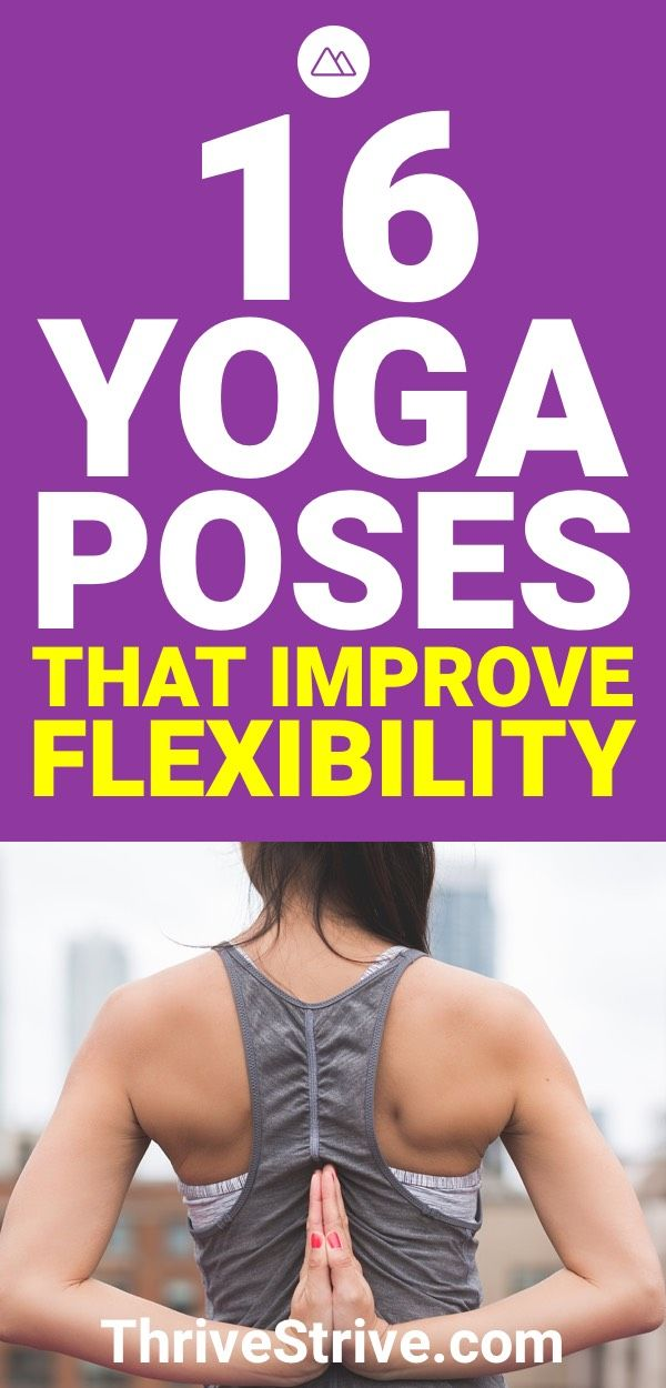 If you want to improve your flexibility, you should try yoga. Here are 16 yoga p...