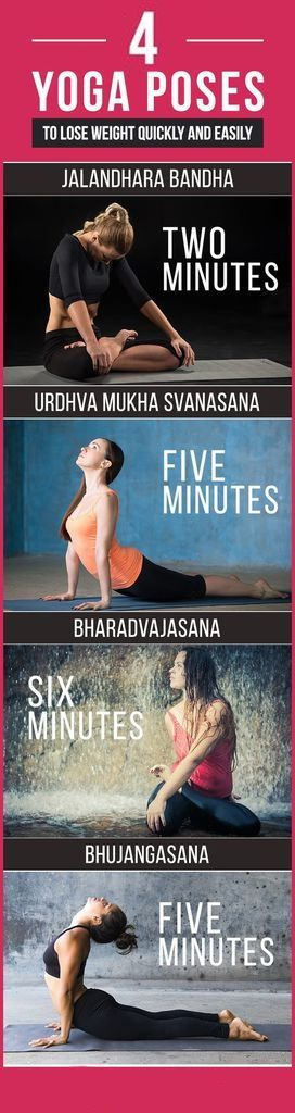 If you want to lose quickly and easily. Try this 4 yoga poses everyday! #yoga #l...
