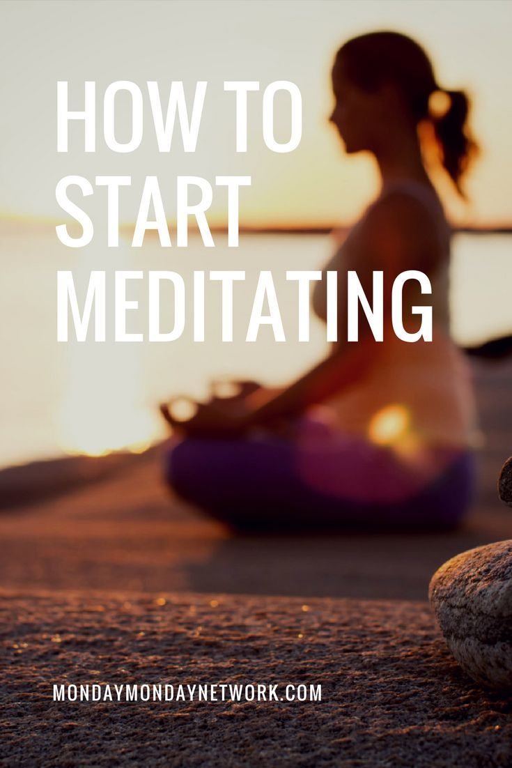 In order to meditate you don't have to be zen master, that comes through medit...