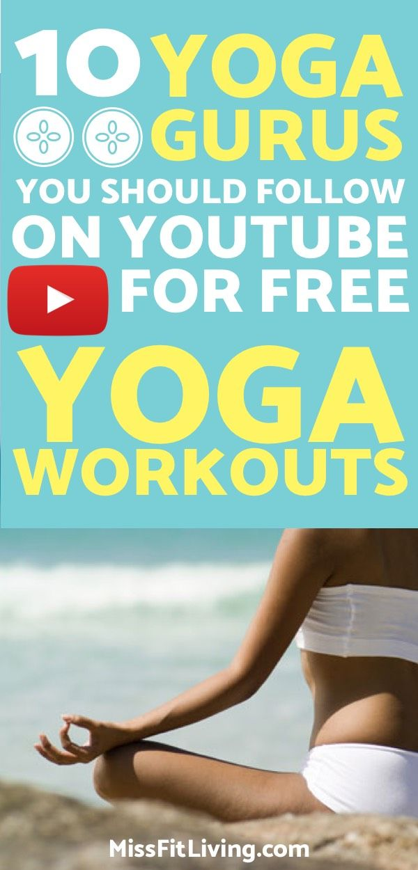 Looking for free yoga workouts? These yoga youtube channels will provide you wit...