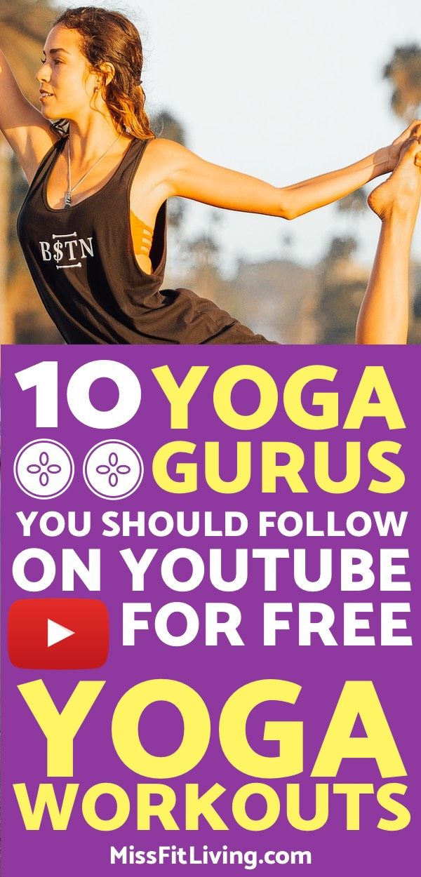 Looking for some yoga workouts for beginners? These yoga youtube channels will h...