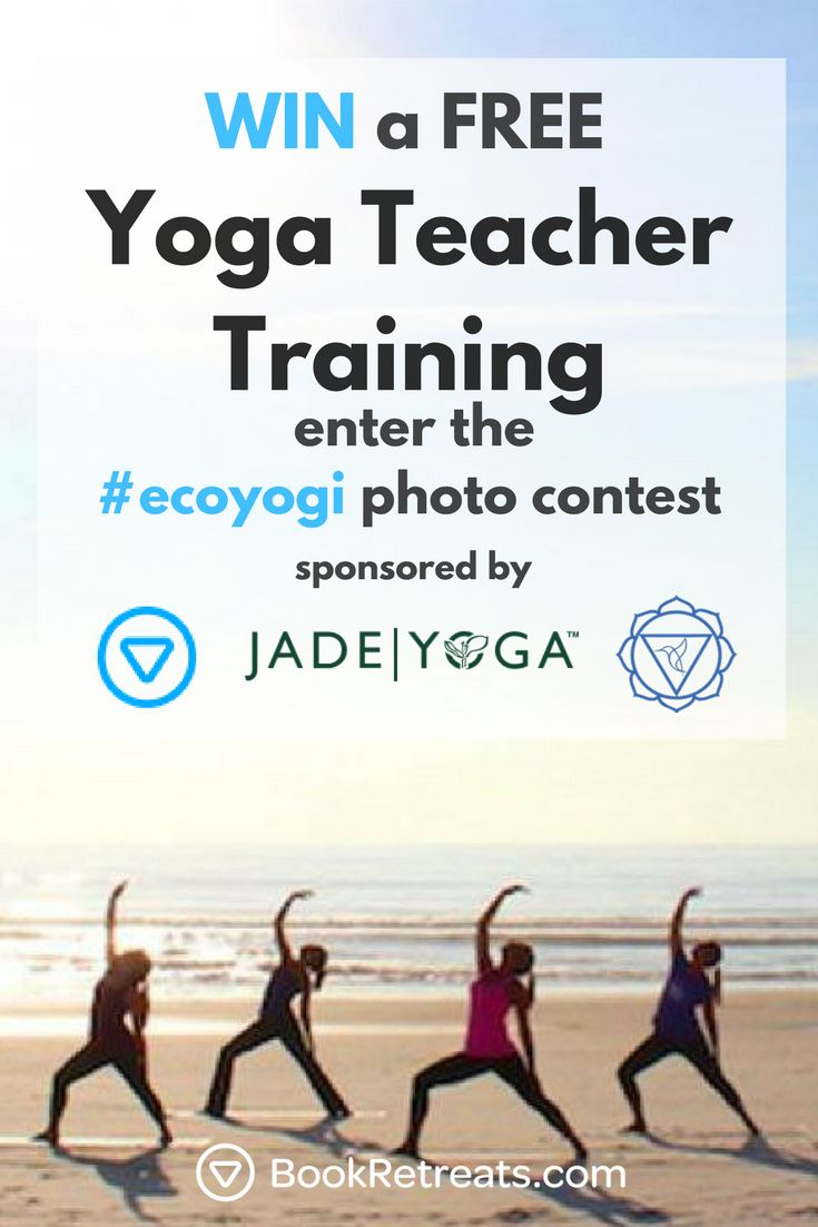 Want a chance to win a FREE yoga teacher training? We are teaming up with Jade Y...