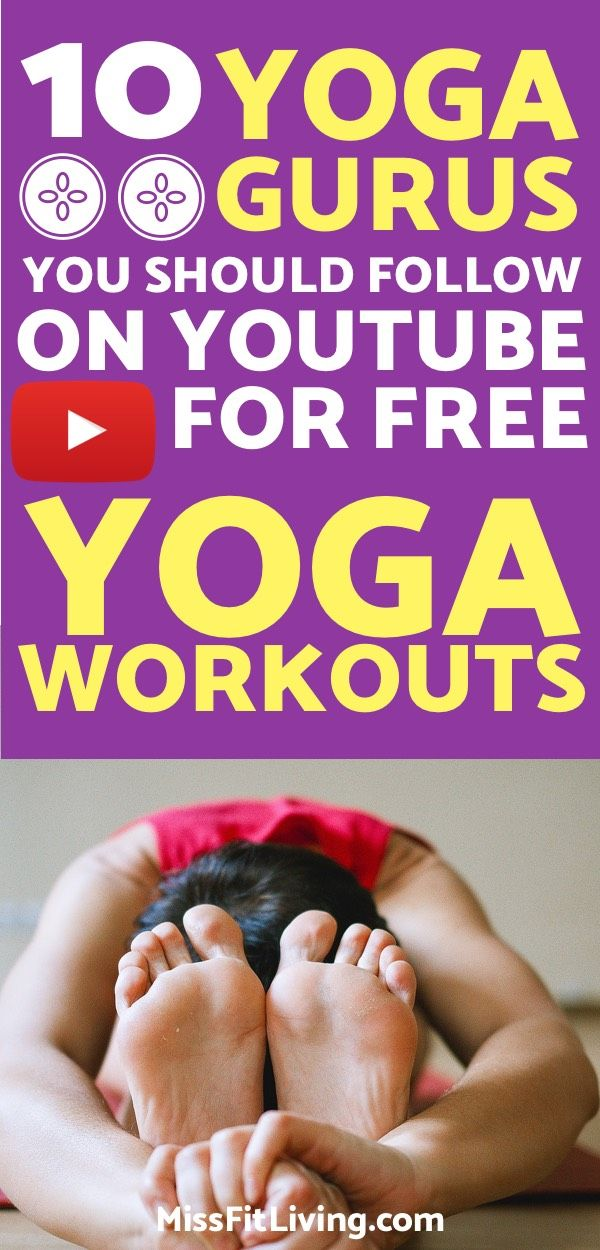 Want to do yoga to improve flexibility and lose weight? These youtube channels w...
