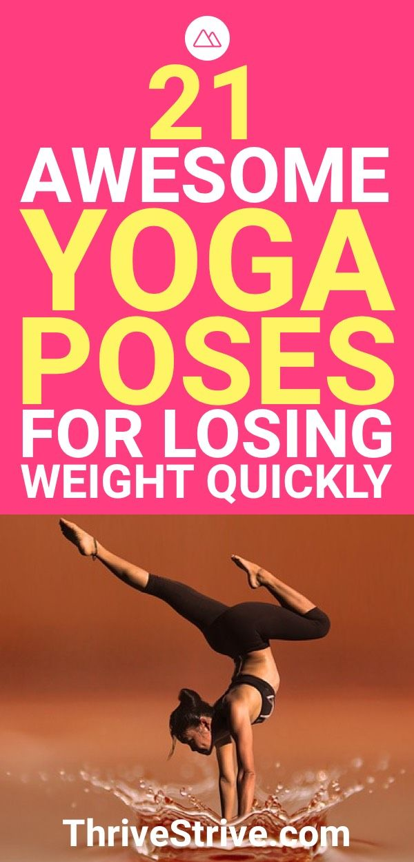Yoga can improve your life in a lot of aspect, including helping you lose weight...