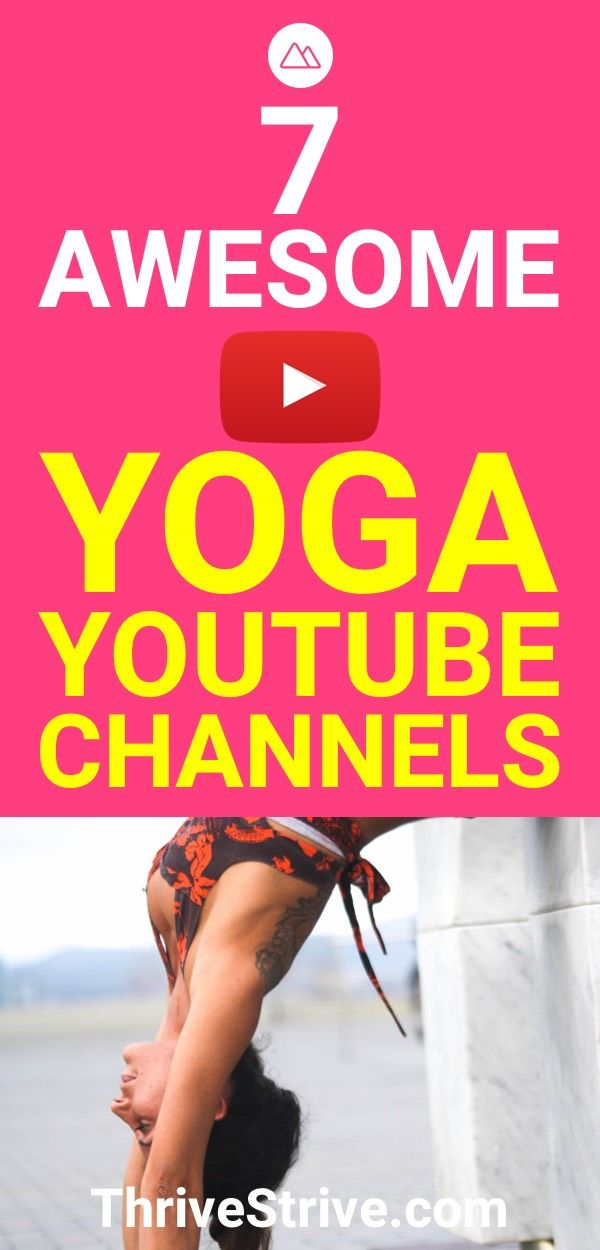 Yoga on the internet is great for all beginners. Here are 7 yoga youtube channel...