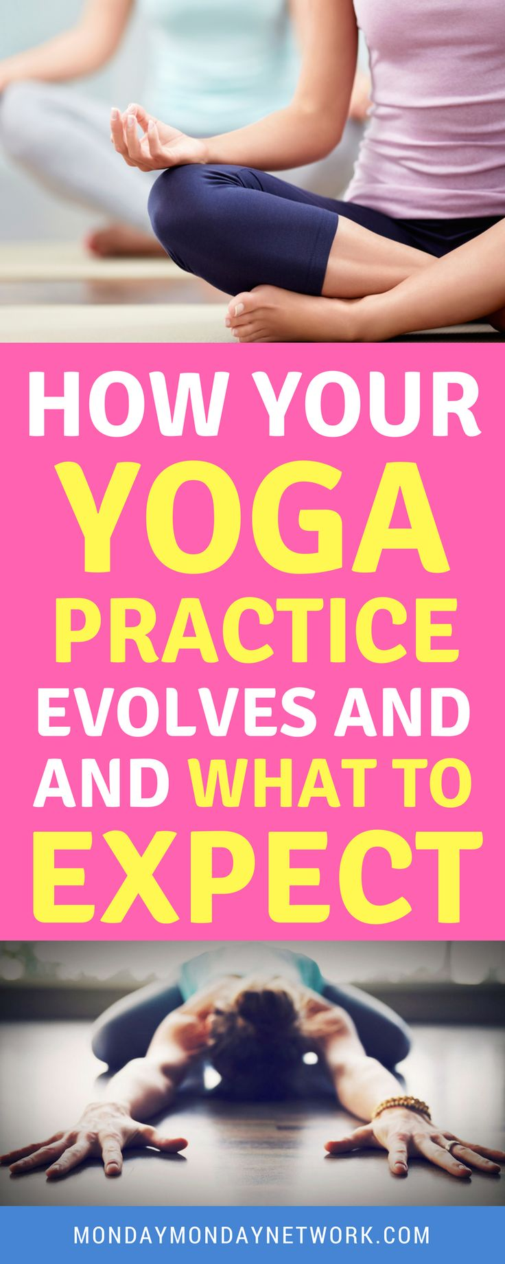 Yoga takes time for the body to embrace postures and for the benefits to be full...
