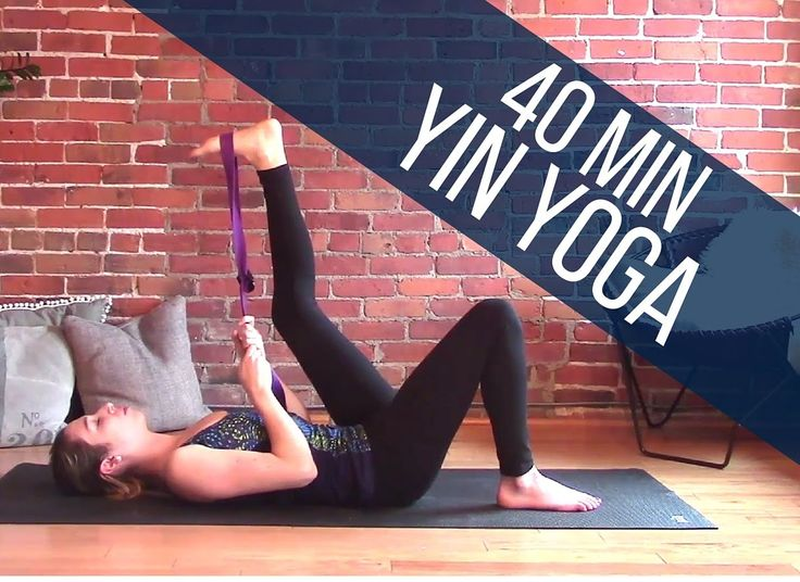 Yin Yoga Full Body Stretch 40 min Class - Flexibility & Relaxation