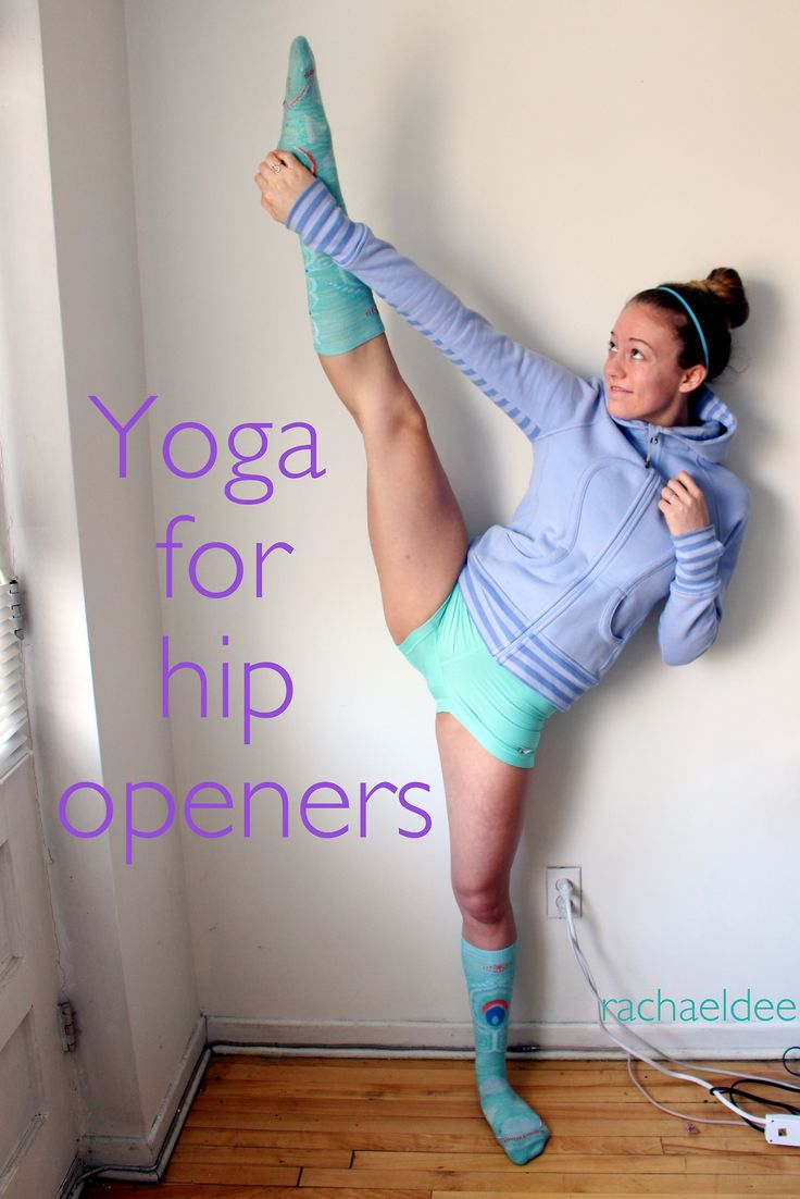Yoga for tight hips.