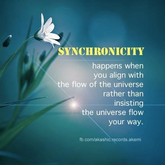...synchronicity.....