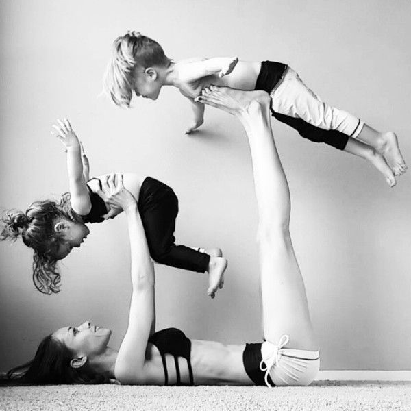 6 Fun Yoga Shapes To Do With Kids!Visit www.sophysports.com to get a Exercise Ba...