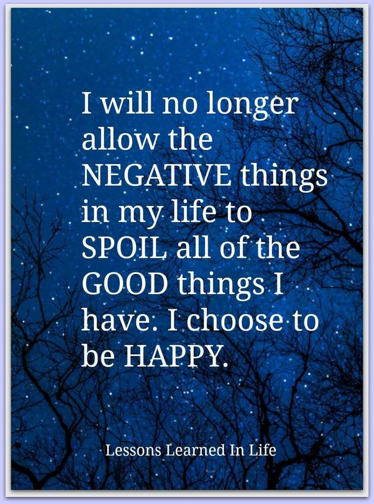 A great starting place, choose to be HAPPY and watch how much good shows up for ...