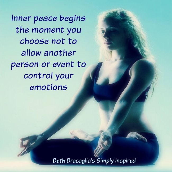 Yoga Quotes A Simple Reminder About Inner Peace
