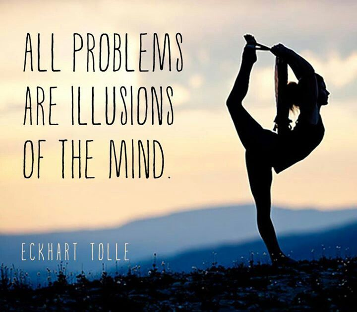 All problems are illusions of the mind!  Come to Clarkston Hot Yoga in Clarkston...