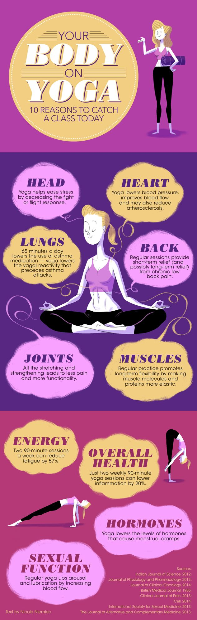 As if we need more reasons to do yoga! Here are some more just in case.