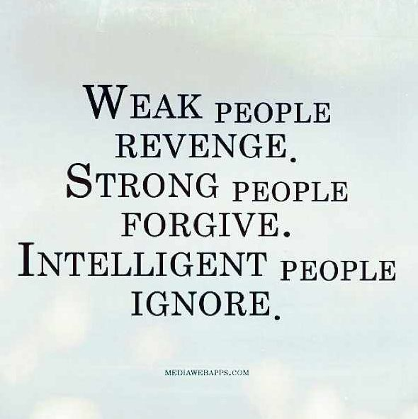 Be intelligent