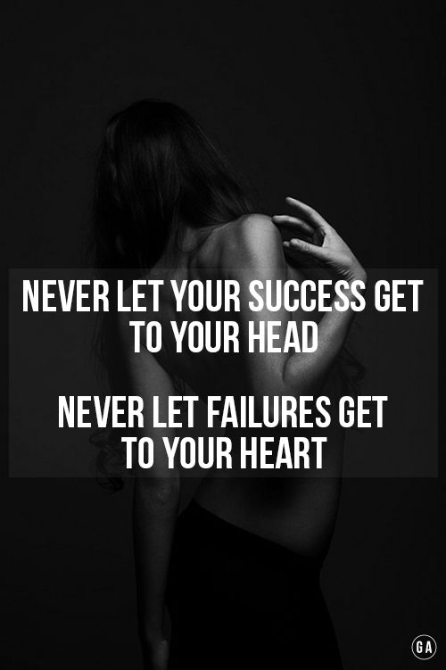 Bec success will freeze ur creativity and failure will freeze ur soul... Gymahol...