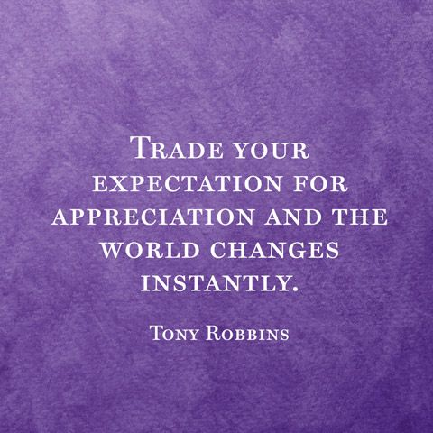 Change your life with gratitude.