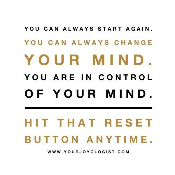 Hit that reset button! - www.yourjoyologis...