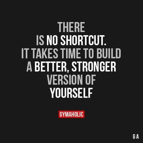 It takes time, remember that
