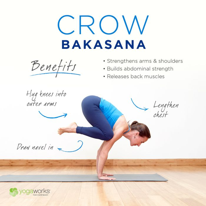 Learn how to engage, root, and rise in Bakasana (Crow Pose). Hint: Falling on yo...