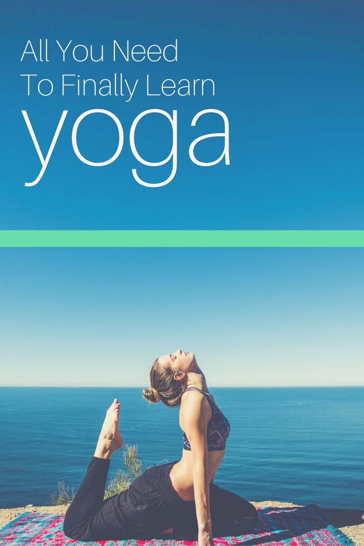 New to Yoga? This is what you need. It'll teach you the ins and outs of how ...