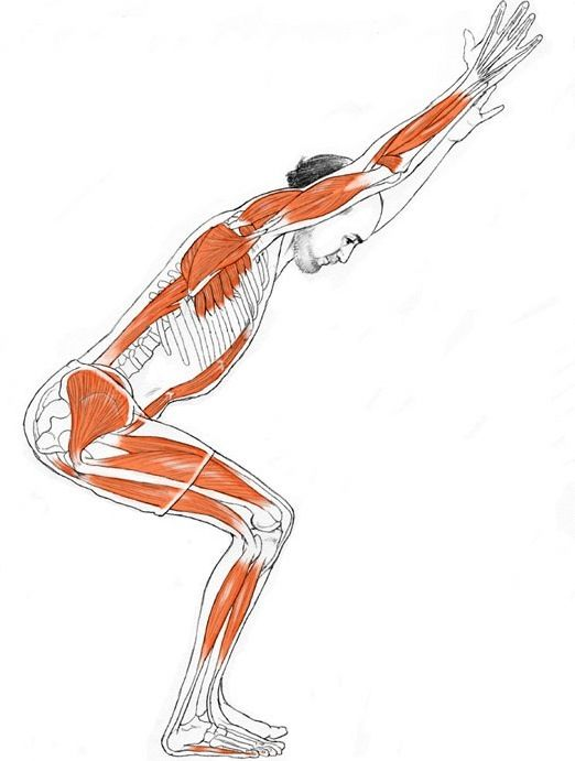 Not only does this pose tone and tighten your buttocks and thighs, but the twist...