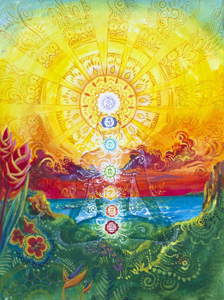 One. #colorful #colors #one #chakras #meditation #spiritual