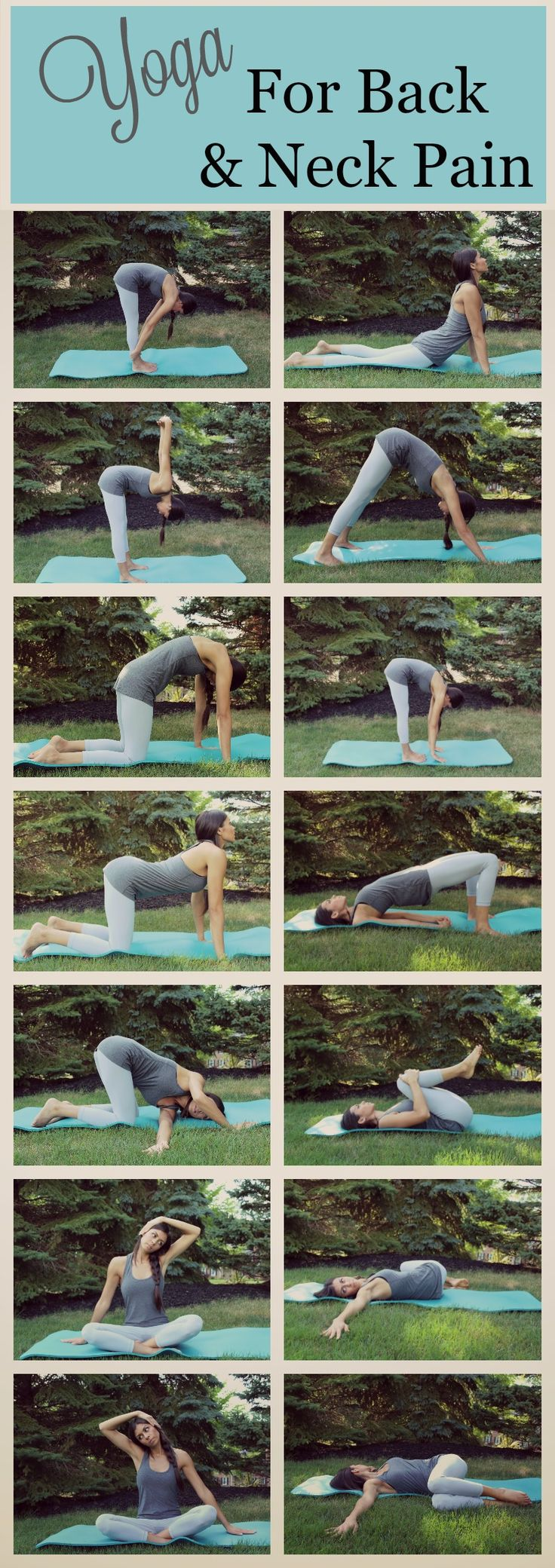 Repin to save these poses for later! Give these Yoga poses a try if you are expe...