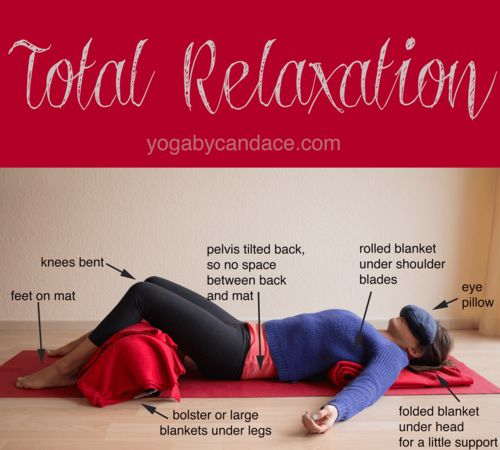 Restorative Yoga is extremely helpful in calming the mind and spirit. Great for ...