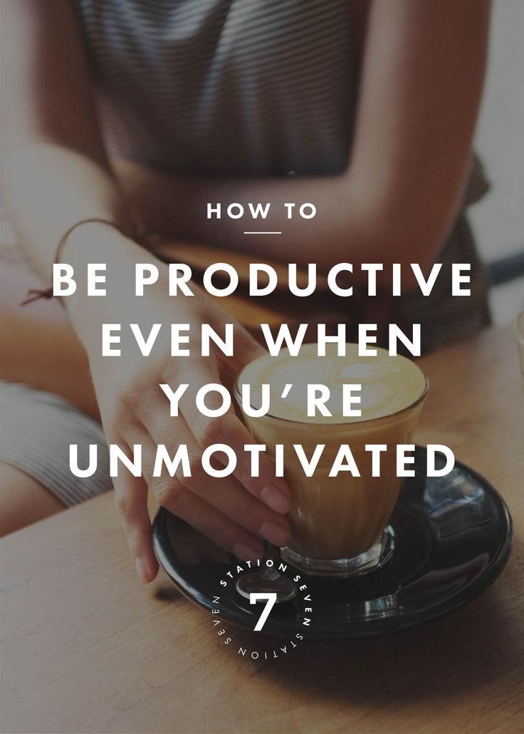 Sometimes motivation is hard to come by. These tricks will help you maintain pro...