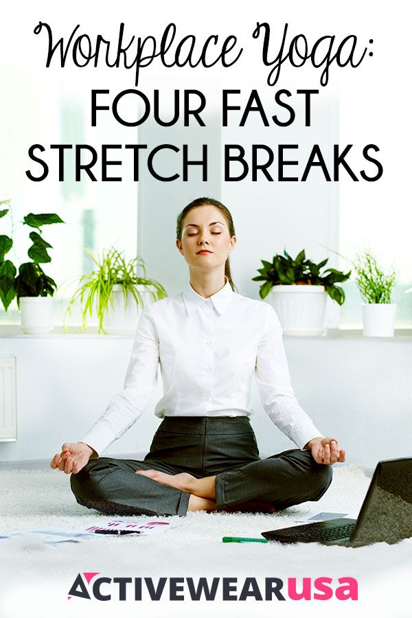 To stay healthy and mentally sharp, take a few breaks during a long day at work ...